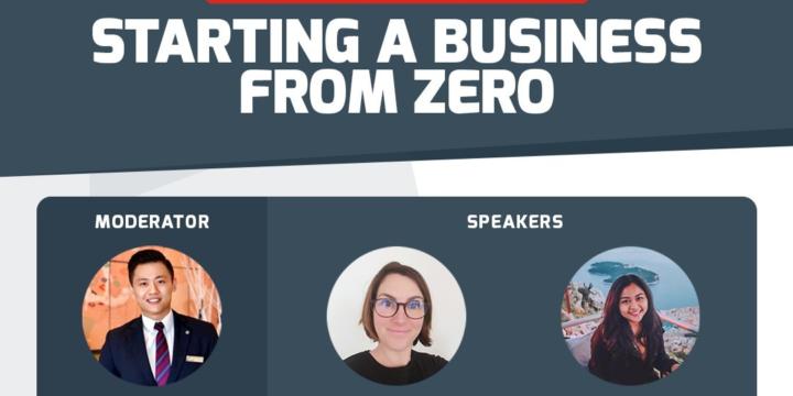 Cesar Ritz Webinar: Starting a Business From Zero
