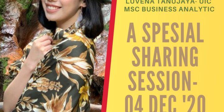 Sharing Session – Joseline Luvena Tanujaya